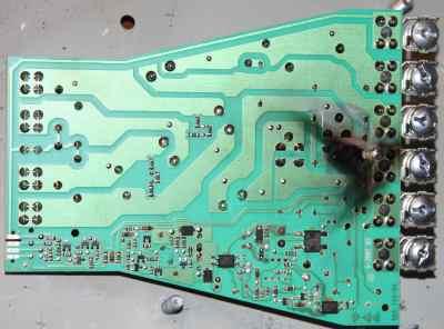 moduł zasilania płyty indukcyjnej Teka Gorenje Amica E4