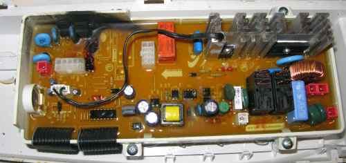 uszkodzony moduł pralki Samsung