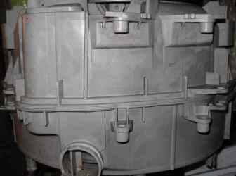 Zbiornik z niewymiennymi łożyskami Electrolux